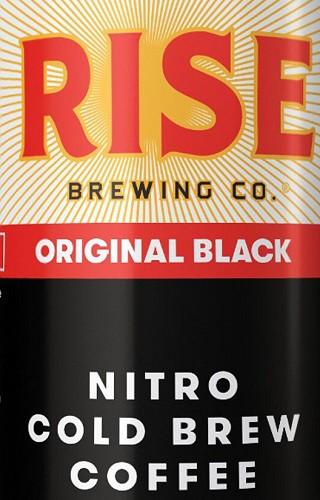 Rise Nitro Cold Brew - Original Black 15.5 Gal Full Keg