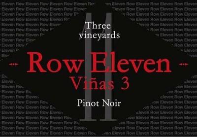 Row Eleven Pinot Noir Vinas 3 19.5 Liters