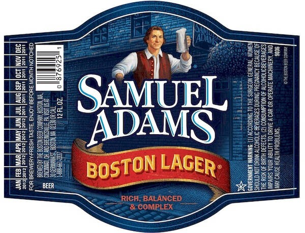 Samuel Adams Boston Lager Full Keg 15.5 Gal