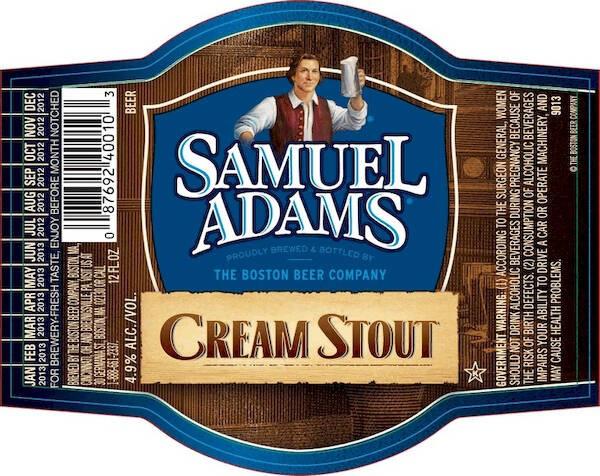 Samuel Adams Cream Stout Sixtel Keg 5.16 Gal