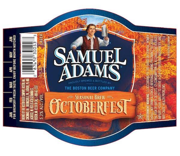 Samuel Adams Oktoberfest Sixtel Keg 5.16 Gal
