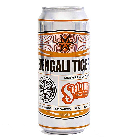 Six Point - Bengali Tiger IPA 12oz - 24 Cans