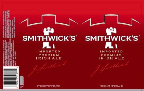 Smithwicks Full Keg 15.5 Gal
