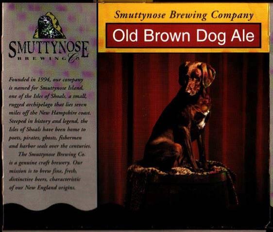 Smuttynose Old Brown Dog Sixtel Keg 5.16 Gal