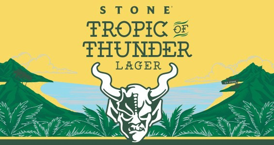 Stone Tropic of Thunder Lager 15.5 Gal Sixtel