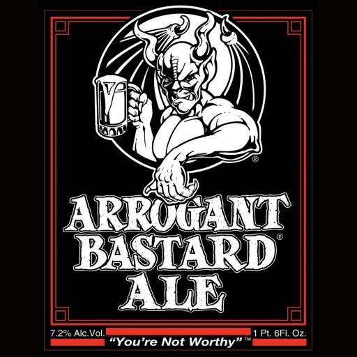 Stone Arrogant Bastard Ale Sixtel Keg 5.16 Gal