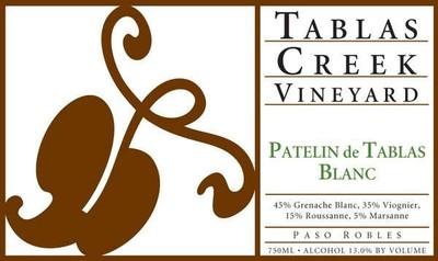 Tablas Creek Vineyard Patelin de Tablas Blanc 19.5 Liters