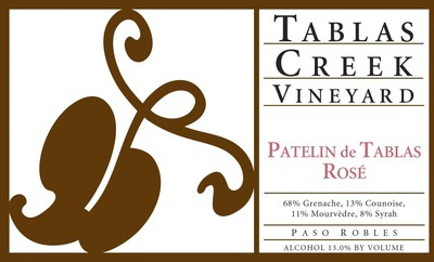 Tablas Creek Vineyard Patelin de Tablas Rose 19.5 Liters