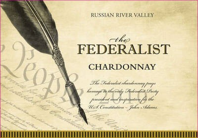 The Federalist Chardonnay Russian River Valley 19.5 Liters
