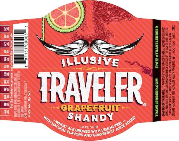 Traveler Grapefruit Shandy Sixtel Keg 5.16 Gal