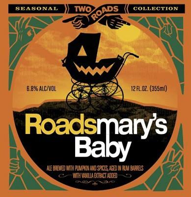 Two Roads Roadsmary's Baby Pumpkin Ale Sixtel Keg 5.16 Gal