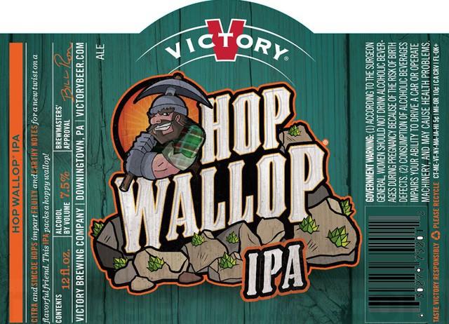 Victory Hop Wallop IPA 5.16 Gal Sixtel