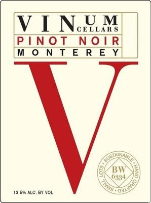 Vinum Cellars Pinot Noir 19 Liters