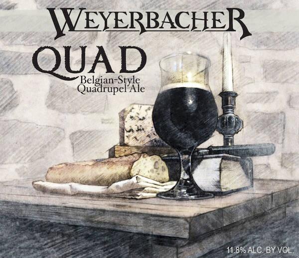 Weyerbacher Quad Sixtel Keg 5.16 Gal