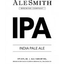 Alesmith IPA Sixtel Keg 5.16 Gal