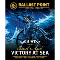 "Ballast Point ""Victory at Sea"" ""High West"" Rye & Bourbon Barrel Aged Imperial Porter Sixtel 5.16 Gal"