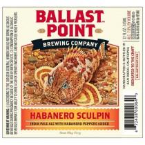 Ballast Point Habanero Sculpin Sixtel Keg 5.16 Gal
