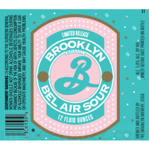 Brooklyn Bel Air Hopped Sour Ale  5.16 Gal Sixtel