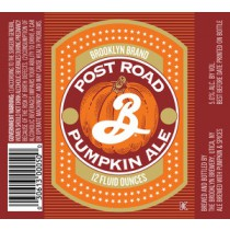 Brooklyn Post Road Pumpkin Ale Sixtel Keg 5.16 Gal