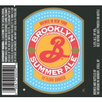 Brooklyn Summer Ale Sixtel Keg 5.16 Gal