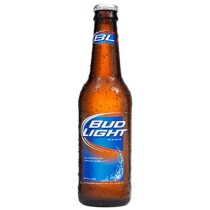 Bud Light Bottles 12oz - 24 Pack
