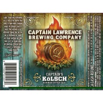 Captain Lawrence Captain's Kolsch Sixtel Keg 5.16 Gal