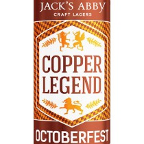 Jack's Abbey Copper Legend Festbier 5.16 Gal Sixtel