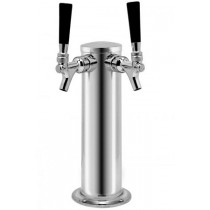 "Dual Tap Tower 3"" Diameter"