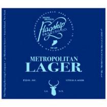 Flagship Metropolitan Lager 5.16 Gal Sixtel