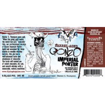Flying Dog Gonzo Imperial Porter Sixtel Keg 5.16 Gal