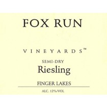 Fox Run Vineyards Riesling Semi-Dry 20.2 Liters