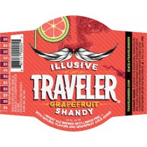 Illusive Traveler Grapefruit Shandy Full Keg 15.5 Gal