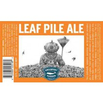 "Greenport Brew ""Leaf Pile"" Pumpkin Fall Ale Sixtel Keg - 5.16 Gal"