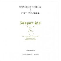Maine Beer Peeper Ale Sixtel Keg 5.16 Gal