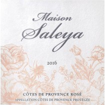 Maison Saleya Cotes de Provence Rose 2016