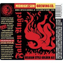 Midnight Sun Fallen Angel Golden Strong Ale Sixtel Keg 5.16 Gal