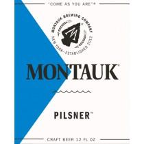 Montauk Pilsner 5.16 Gal Sixtel