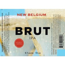 New Belgium Up Next Series #1 Brut IPA 15.5 Gal Full Keg