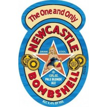 Newcastle Bombshell Pale Blonde Ale Full Keg 15.5 Gal