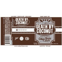 Oskar Blues Death By Coconut Porter 5.16 Gal Sixtel