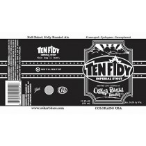 Ten FIDY Imperial Chocolate Stout Sixtel 5.16 Gal