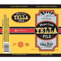 Oskar Blues Mama Little Yella Pils Sixtel Keg 5.16 Gal