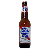 Pabst Blue Ribbon Bottles 12oz - 24 Pack