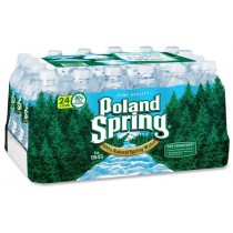 Poland Spring 16.9oz/500ml 24-Pack Bottles