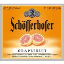 Schofferhofer Hefeweizen Grapefruit Full Keg 15.5 Gal