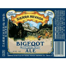 Sierra Nevada Bigfoot Ale Sixtel Keg 5.16 Gal