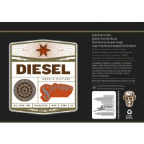 Six Point Diesel Stout Sixtel Keg 5.16 Gal