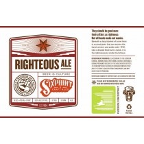 Six Point Righteous Ale Sixtel Keg 5.16 Gal