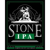 Stone India Pale Ale Sixtel Keg 5.16 Gal