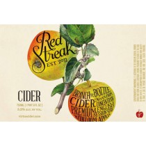 Virtue RedStreak Cider Sixtel Keg 5.16 Gal